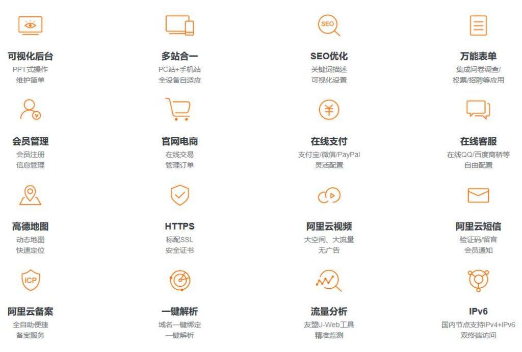 阿里云热门活动:云·企业官网 - 设计师量身定制,限时领券立减500-2000元
